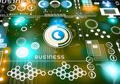 Innovative technologies. Digital business background — Stockfoto