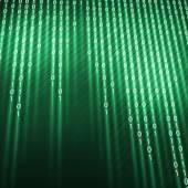 Sfondo codice binario — Foto Stock