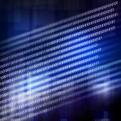 Binäre code hintergrund — Stockfoto