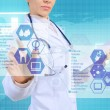 Innovative technologies in medicine — Stock Photo #67074473