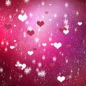Liefde en romantiek achtergrond — Stockfoto
