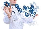 Innovative technologies in medicine — Stockfoto
