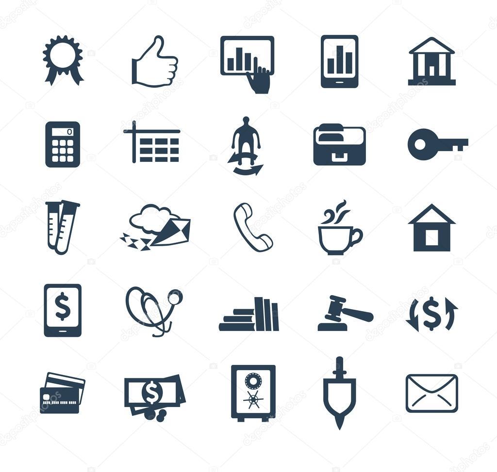 Плоский дизайн иконок