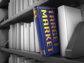Target Market - Title of Book. — Stock Photo