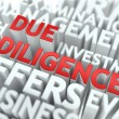 Due Diligence - Wordcloud Concept. — Stock Photo #55076621