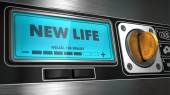 New Lifeon Display of Vending Machine. — Stock Photo