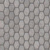 Decorative Gray Pavement Slabs. — Stock Photo