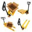 Shipment Concepts - Set of 3D Illustrations. — Stock Photo #57096823