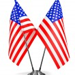 USA - Miniature Flags. — Stock Photo #58014293
