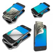Mobile Payments - Set of 3D Illustrations. — Stockfoto
