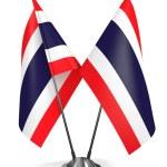 Thailand - Miniature Flags. — Stock Photo #59295417