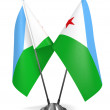 Djibouti - Miniature Flags. — Stock Photo #65146165