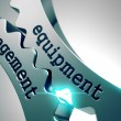 Equipment Management on Metal Gears. — Stock Photo #66161622