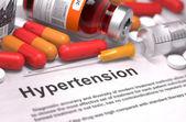 Hypertension Diagnosis. Medical Concept. — Stock Photo