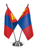 Mongolia - Miniature Flags. — Stock Photo
