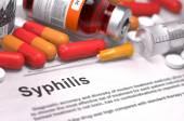 Syphilis Diagnosis. Medical Concept. — Stock Photo