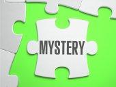 Mystère - Puzzle avec des pièces manquantes. — Photo