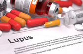 Diagnosis - Lupus. Medical Concept. — Stock Photo