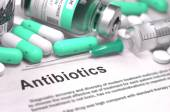 Antibiotics. Medical Concept with Blured Background. — Stock Photo