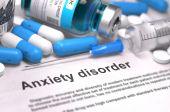 Anxiety Disorder Diagnosis. Medical Concept. — Stock Photo