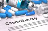 Chemotherapy - Medical Concept. Composition of Medicame. — Stock Photo