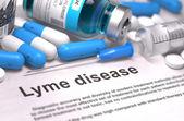 Lyme Disease Diagnosis. Medical Concept. — Stock Photo