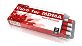 Cure for MDMA - Blister Pack Tablets. — Stock Photo