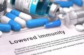 Lowered Immunity - Medical Concept. — Stock Photo