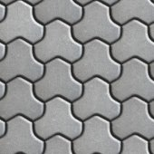 Gray Pavement of Combined Hexagons. — Zdjęcie stockowe