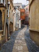 Alley at Inner City of Baku — Fotografia Stock