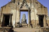 Wat Ratburana — Stock Photo