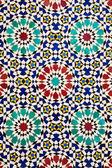 Colorful arabic mosaics — Stock Photo
