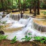Waterfalls in rain forest — Stock Photo #66366643