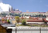 View of Prague Castle — Stok fotoğraf