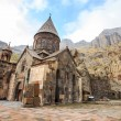 Monastery of Geghard in Armenia — Stock Photo #71057381