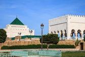 Mausoleum of mohammed v — Stock Photo
