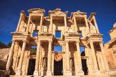 Celsus bibliotek — Stockfoto