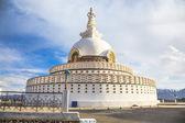 Shanti Stupa — Stock Photo