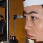 Ophthalmic eye examination — Stock Photo #59045185