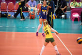 Women Volleyball World Grand Prix — Stock Photo