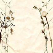 Flowers in watercolor paintings — Stock Vector
