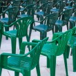 Green Chairs — Stock Photo #52024111