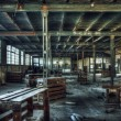 Old abandoned factory interior — Stock Photo #53180399