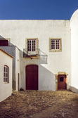 Old white rural house in Portugal — Stock Photo