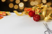 Wrapping Presents — Stock Photo