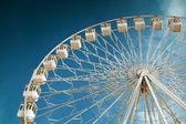Ferris wheel in fair — Stock Photo