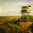 Observation Tower in the hills — Stock Photo #65863549