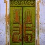 Old Green Door — Stock Photo #67571675