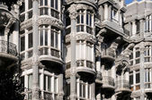 Modernist building in Oviedo, Asturias — Stock Photo