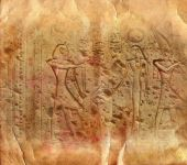 Ancient Egyptian hieroglyphics — Stock Photo